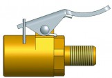 Адаптер для присоединения шланга к груз. вентилю R-0767-1
